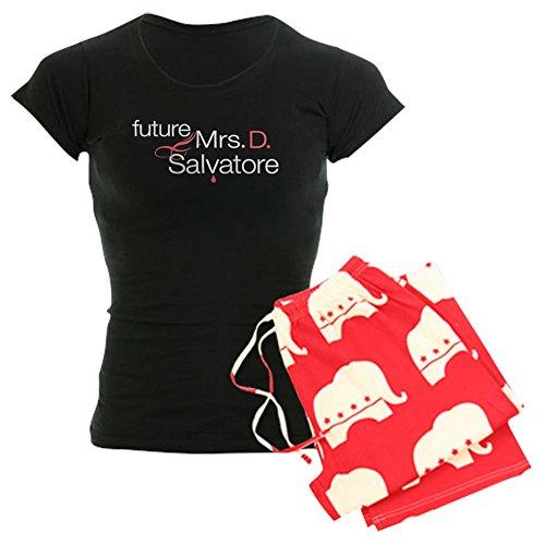 CafePress Damen-Dark Pyjama–Frau Damon Salvatore Damen Dark Schlafanzüge With Republican Pant