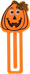 Family Friendly Halloween Pumpkin Bookmark Party Favour, Plastic, 3 x 1 Pack of 12