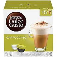 NESCAFÉ Dolce Gusto Cappuccino Coffee Pods 30 Capsules (15 Servivings)
