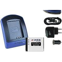Baterìa + Cargador (USB/Coche/Corriente) para NP-FT1 // Sony DSC-L1, M1, M2, T1, T5, T9, T10, T11, T33