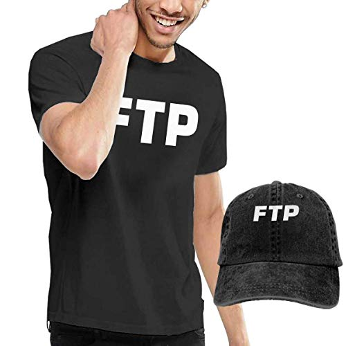 1d2ea90ada46f AOCCK Camisetas y Tops Hombre Polos y Camisas, FTP Logo Men's Short Sleeve T  Shirt