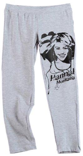 hannah-montana-legging-enfant-fille-gris-6ans