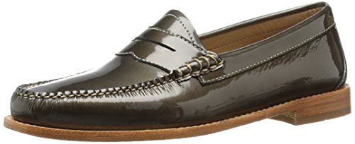 Braun Bass Loafer (G.H. Bass & Co. Frauen Whitney Leder Loafers Braun Groesse 6 US/37 EU)