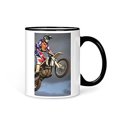 aina Tasse Kaffeetasse Motocross Cross