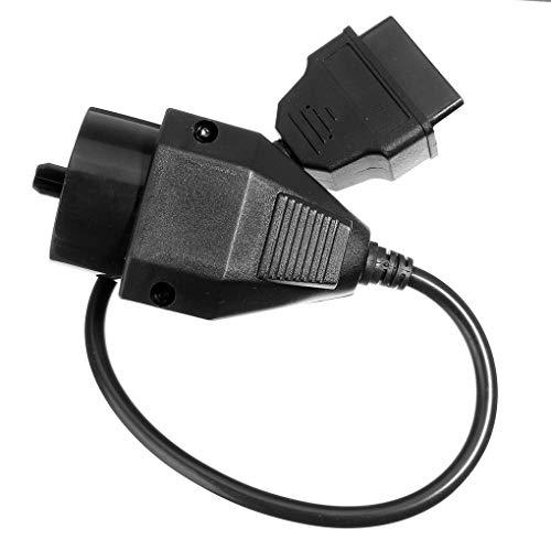 ELENXS 20 Broches à 16 Broches 40cm Adaptateur OBD2 Câble Scanner Connecteur pour BMW E36 E38 E39 E46