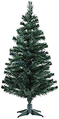 Urban Festivities Five 5 feet Artificial Christmas Tree Xmas Tree with Solid Legs, Light Weight, Perfect for Christmas Decoration (Green, 5 Feet)
