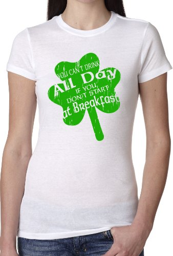 Crazy Dog Tshirts - Women's Drink All Day -