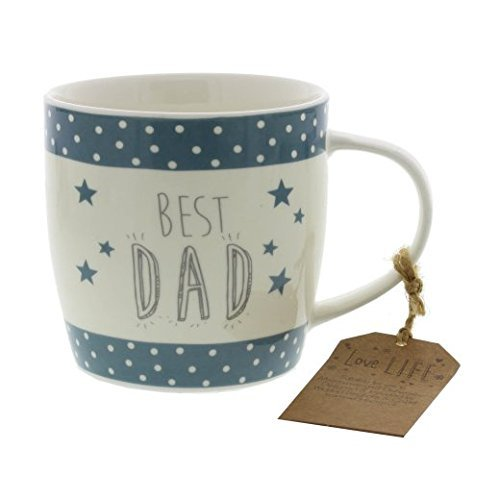 Love Life Mug: Best Dad by Widdop