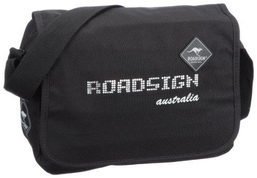 Roadsign Borsa Messenger, 60130-0500, blu - royalblau, 60130-0500 Nero (schwarz)