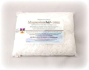 Magnesium-Chlorid Granulat 1000g - Magnesium - Das Original vom Toten Meer - Keine Chemie! Natur pur, ohne Konservierungsstoffe etc. Nur das Beste für Ihren Körper