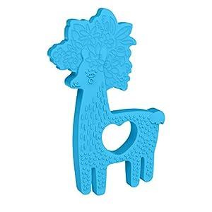 Manhattan Toy Animal Shapes Lama - Mordedor de Silicona