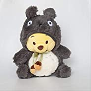Soft Toys, Cartoon Winie Bear Totoro Plush Toy Stuffed Animals Dolls For Girls Children Birthday Gifts kshu