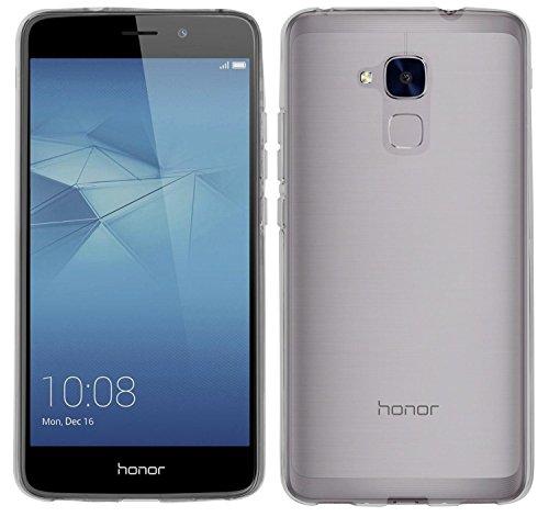 yayago Hülle für Huawei Honor 5C / Huawei GT3 Silikon Schutzhülle Hülle Case Backcover Tasche Transparent