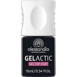 alessandro Gelactic Gel Top Coat, 1er Pack (1 x 10 ml)