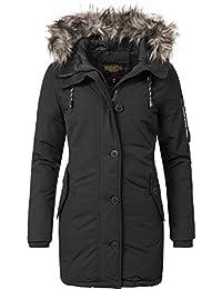 Khujo Damen Mantel Wintermantel Winterparka YM-Mary 3 Farben XS-XXL