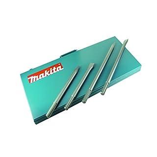 Makita P-18013 SDS-Max Meissel Set, 4-teilig im Metallkoffer
