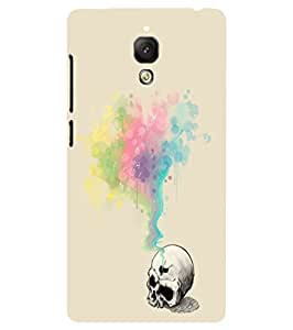 Back Cover for OnePlus Three Skull Love art