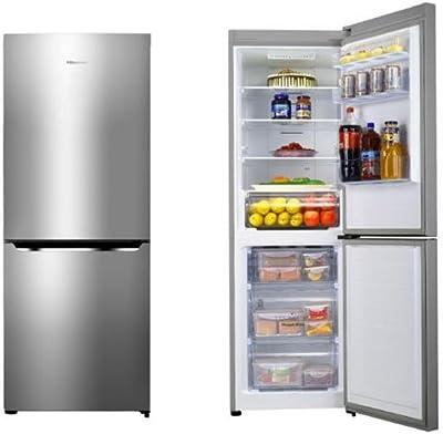 Hisense frigorífico combinado RB371N4EC2Total No Frost Clase A + capacidad 285L color inoxidable