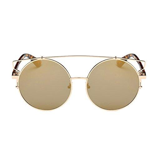 Tonsee 〖Damen Männer Sonnenbrillen Runde Vintage Retro Brille Polarisiertes Licht Spiegel...