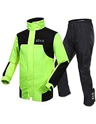 f005c5402b1 Combinaison de pluie cycliste Cyclisme pluie costume veste de pluie  imperméable pantalon pluie usure moto imperméable