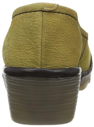 Fly LondonPUMP - Scarpe con Tacco donna Giallo (Yellow (Ochre/Black))