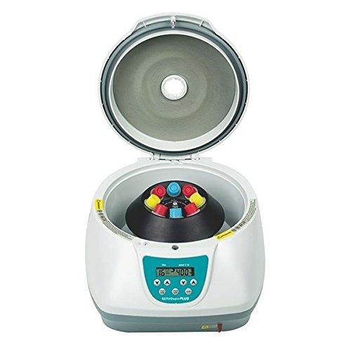 Servo Spin Plus mesa Centrifugadora con ángulo Rotor 8x 15ml & # x2507; velocidad: 100–5000u/min & # x2507; unidad Tiempo: 1hasta 99min & # x2507; versátil Uso en laboratorio, química, Farmacia, la industria, etc.