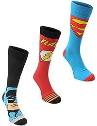 DC Comics , 3 calcetines talla 7-11