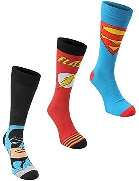 DC Comics-Crew-Socken, 3er-Pack, Gr. 41-45