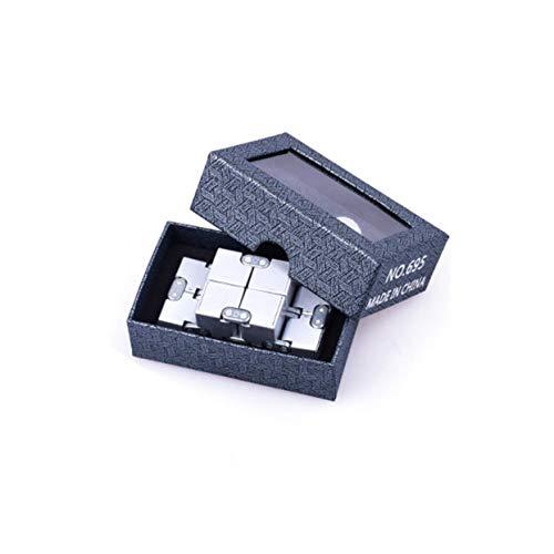 Tree-on-Life Hohe Textur Infinity Cube Magic Cube Aluminiumlegierung Professionelle Wettbewerb Geschwindigkeit Puzzle Erwachsene Dekompressionsspielwaren -