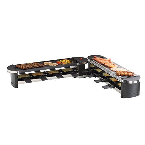 DomoClip DOC160 Appareil à Raclette et Gril Modulable Noir 1200 W