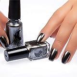 Liberty Metallic Nail Polish Manicure Flash mentale Base Nail Art Specchio Effetto Glitter Vernice lacca Cromato