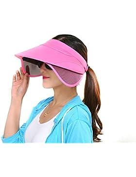 TININNA regolabile grande bordo largo protezione solare Cappello di visiera  Cappello del Sun anti -UV e899934633ff