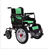 AA100 Folding electric wheelchair/four-wheel care intelligent climbing without slipping function electric wheelchair (manual/automatic switchable)