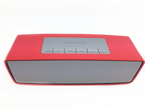 CASVO Compatible Samsung Galaxy S6 Sound Link Mini Portable Wireless Bluetooth Speakers | Aux Input | FM Radio | Support Pen Drive | microSD Card | (Red) Bluetooth Mobile/Tablet Speaker (Red, 2.1 Channel)