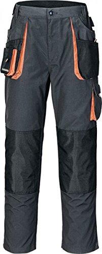 Preisvergleich Produktbild Terratrend Job Arbeitshose - Bundhose in Dunkel Grau,Schwarz,Orange, 54