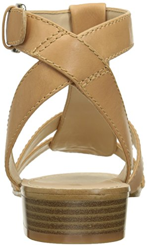 Nine West Yippee Robe en cuir Sandale Natural