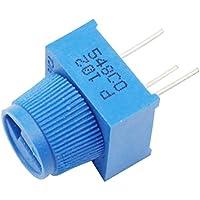 helloyee 1K Ohm potenciómetro para placa de circuitos con pomo para Arduino (Pack de 10)