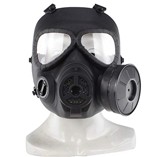 y Gas Mask Paintball Full Face Skull CS Mask for Cosplay Protection Halloween Masquerade ()