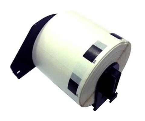 2 x DK11209 (29mm x 62mm) Papier Étiquettes (800 étiquettes par rouleau) compatible pour Brother QL-500, QL-550, QL-560, QL-570, QL-580N, QL-650TD, QL-700, QL-720NW, QL-1050, QL-1060N