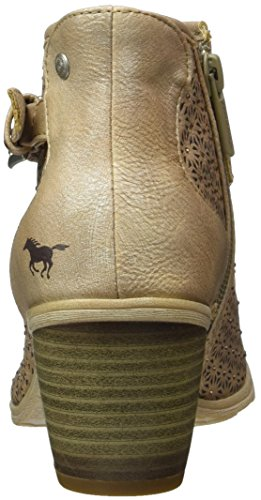 Mustang 1221-807-318, Bottes Bout Ouvert  Femme Marron (318 Taupe)