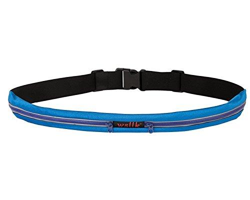 KANG@ Sport Taille Pack Multifunktions Running Männer und Frauen Outdoor Handy Tasche Anti-Diebstahl intime Stealth wasserdicht Beutel Double Bag Blau