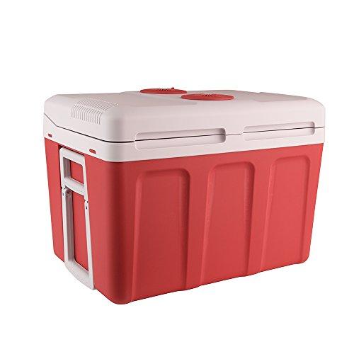 Auto Companion Elektrische Kühlbox, kühlt und wärmt, tragbar, 40 l, 240 V Wechselstrom & 12 V