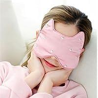 liu Augenmaske/Schlafmaske - Atmungsaktiv Weiblich MäNnlich Bequem, Seidenbrille Schlafen Eisbeutel Schatten Kalt preisvergleich bei billige-tabletten.eu