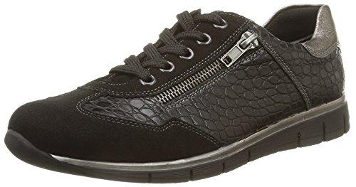 Remonte R4006 02, Damen Sneakers Schwarz (noir Combiné)