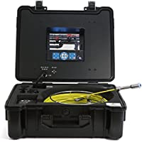 GooQee pic001Scarichi fognari Duct tubo tubo sistema di controllo con & # x3C6; 23mm/2,3Fotocamera lunghezza in 120mm/4,7, 1/3SONY CCD Sensore, Mini testo scrittore, scheda SD da 8GB e 7TFT LCD DVR, GQ-PIC001, 220.00 voltsV - Kit Fit Specchio
