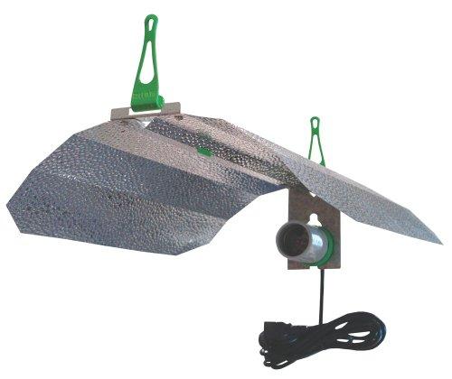 LUMii Maxii Hydrokultur Grow Zelt Licht Reflektor Kit Schatten mit 2Haken & 4m HID Cord Set (Grow Hps Kit)