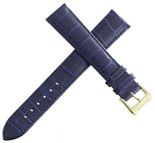 Echt Raymond Weil 17mm Blau Herren Alligator Leder Uhrenarmband