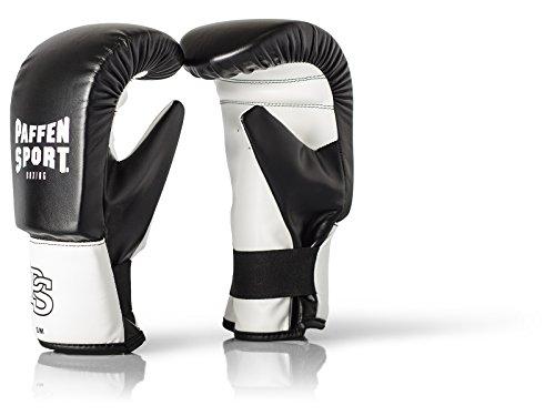 Paffen Sport FIT Boxsack-Handschuhe - schwarz/weiß - Größe: M/L (Boxhandschuhe Fit)