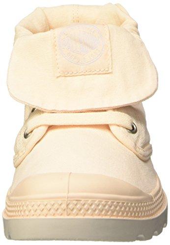 Palladium Baggy Low Lp F, Baskets Hautes Femme Beige (B82 Linen/Silver Birch)