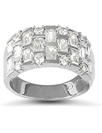 co uk silver puzzle rings jewellery